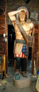 giant cigar store indian
