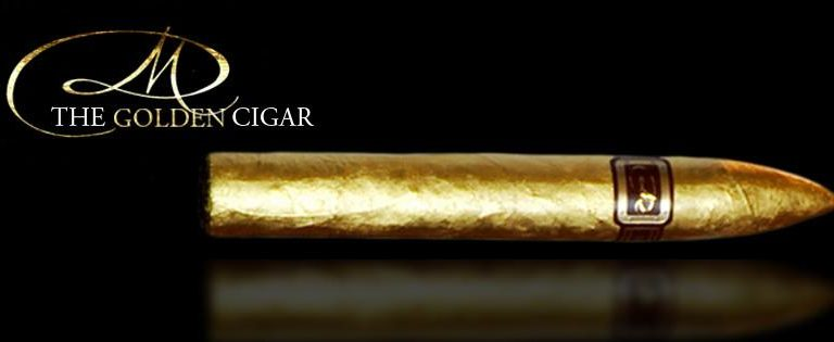 Daniel Marshal gold cigar