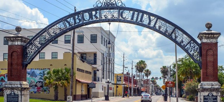 Ybor city arch thinkcigar