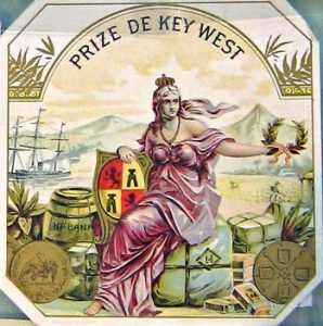 Key West cigar label thinkcigar